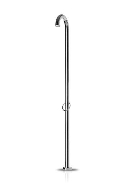 JEE-O original shower 01 freistehende Dusche, edelstahl poliert, 10100-6101