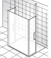 HSK Walk In Easy Comfort 1 Frontelement und 2 Seitenteile