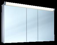 Schneider Spiegelschr. Paliline/130/3/LED, 1x29W+1x26W 1300x760x120 alueloxiert, 159.130.02.50