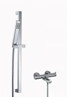 HSK Shower Set 1.10 Eckig, chrom