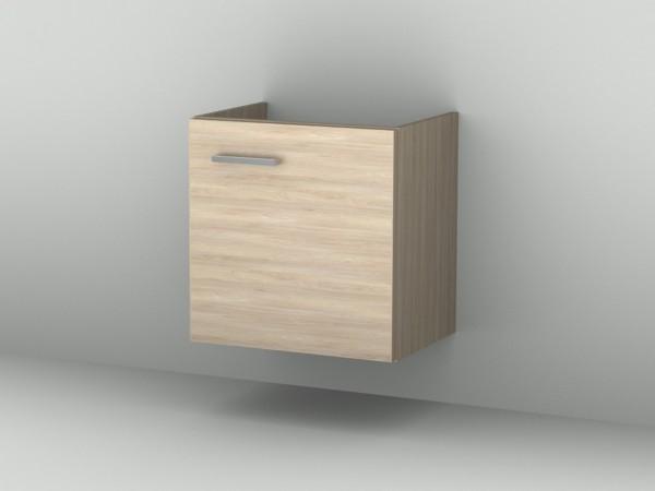 Sanipa Waschtischunterschrank mit Tür (2morrow) MM38215L, Ulme Natural-Touch 510,0x500,0x370,0