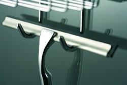 HSK Glaswischer inklusive Wandhalter chrom