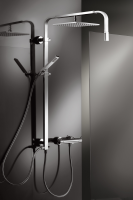 HSK Shower-Set RS 500 Walk In Universal, chrom