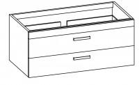 """Artiqua COLLECTION 414 Waschtischunterschrank zu """"Sentique"""" 5126D0 B:1250mm"""