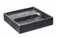 Cosmic Container Waschbecken 57 cm, Schwarz glänzend, 7751610