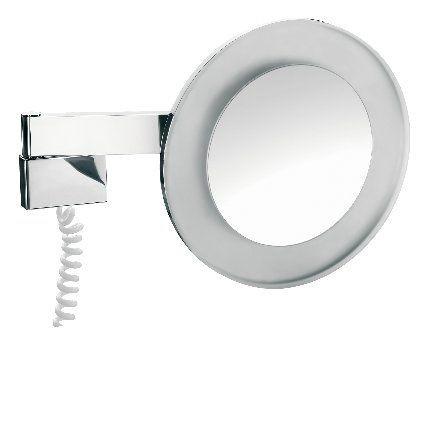Rasier- und Kosmetikspiegel, 3-fach, chrom, 109600129