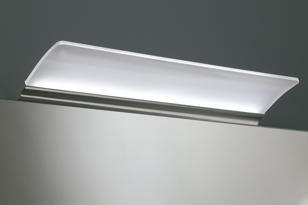 neuesbad led spiegelleuchte b 500 t 130 h 80 mm. Black Bedroom Furniture Sets. Home Design Ideas