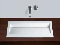 Alape Flach-Einbaubecken RY800 2224000 Weiß