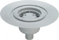 Viega Bodenablauf Advantix 4951.15 in 50mm Kunststoff grau