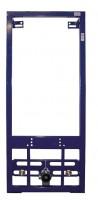 Neuesbad Bidet Vorwand-Element, B:500, H:1180mm, blau, pulverbeschichtet