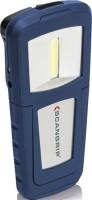 SCANGRIP A/S LED Akku Arbeitsleuchte 3,7V/1000 mAh-Li-ion Akku 55/125Lm 2Leuchtst. IP20 COB, 35060
