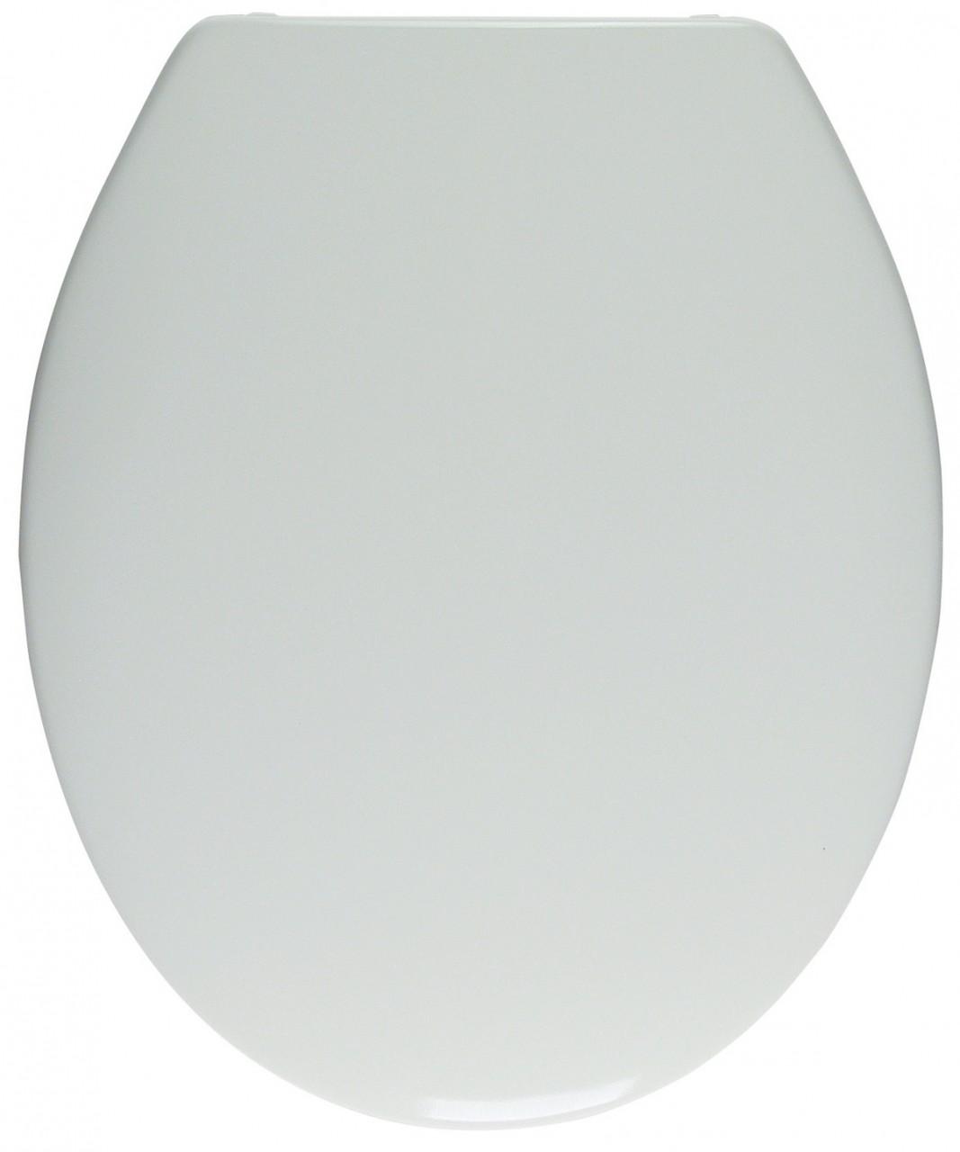WC-Sitz weiss, Duroplast, Deckel übergreifend, mit Absenkautomatik 401296
