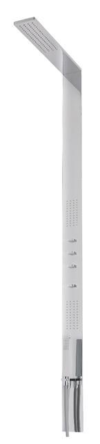 iTap Duschsäule mit Kopfbrause Seitenbrause und Handbrause 40-051.00-01