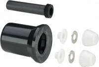 Viega WC Anschlussgarnitur 3817.816 in DN100 Kunststoff schwarz