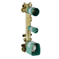 Hansgrohe Thermostatmodul Unterputz Axor Citterio E Grundset 2 Verbraucher, 36701180 , 36701180