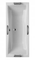 Acryl Badewanne Atlanta DUO 1800x800 mm, weiß