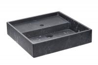 Cosmic Container Waschbecken 57 cm, Schwarz matt, 7750610