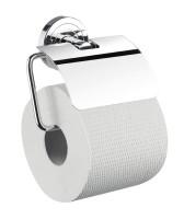 Emco polo Papierhalter, mit Bügel und Deckel, chrom, 070000100