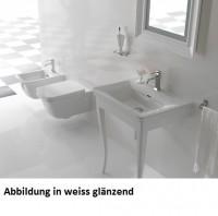 Globo Relais Bodenstehendes Untergestell B:72, T:50, H:80cm, ST080BI, weiss glänzend