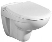 Keramag WC-Sitz Virto mit abnehmbaren, 573045068, Edelstahlscharnieren Pergamon