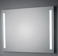 KOH-I-NOOR T5 Wandspiegel mit Seitenbeleuchtung, B: 80 cm, H: 70 cm
