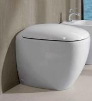 Keramag Tiefspül-WC Citterio, bodenstehend, 213520600