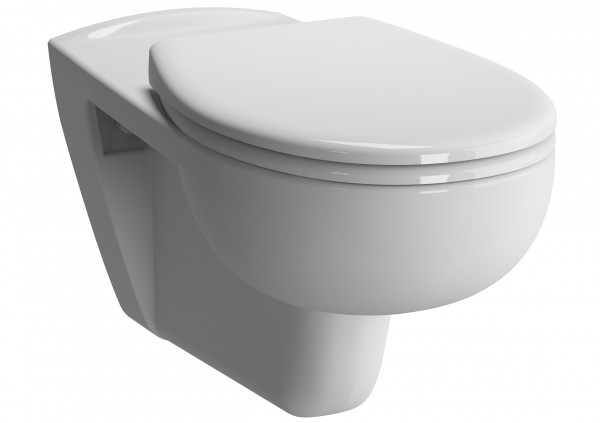 Vitra Conforma Wand-WC VitrAflush mit Bidetfunktion Weiß, 5810B003-0850