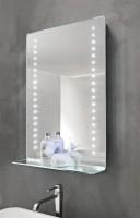 Vanita & Casa Leo LED-Spiegel mit Ablage, B: 520, H: 760 mm, Dimmer, Heizung, Bluetooth
