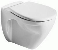 Keramag Renova Nr.1 Wand-Flachspül-WC 204400000 weiss Auslaufmodell
