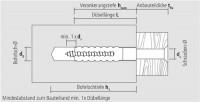 Apolo MEA Befestigungssysteme Metallspreizdübel MSD 8x38 apolo MEA, 503610