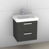 Artiqua 414 Waschtischunterschrank mit 2 Auszügen, passend
