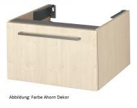 VitrA Waschtisch-Unterschr. f. Konsolenplatte Options, 700x540x350 mm Kirschbaum dunkel, Dekor, 8010
