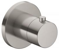 Keuco Thermostatarmatur IXMO 59553, rund, Edelstahl-finish, 59553070001
