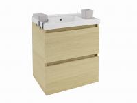 Cosmic B-Box Schrank 2 Schubladen mit Waschbecken glänzend, (60 cm), B05010601166