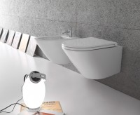 Globo Forty3 Wand-Tiefspül-WC, B: 360, T: 520, H: 430 mm, FOS03.BI, weiss