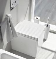 ArtCeram Block Stand-Tiefspül-WC, B: 360, T: 490 mm, weiss matt