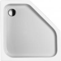 Neuesbad Acryl Fünfeck Duschwanne, 900 x 900 x 65 mm, weiss