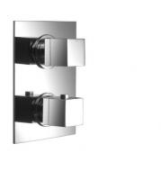 AquaConcept Duo UP-Thermostatarmatur mit Einbaubox 2-Wegeumstellung