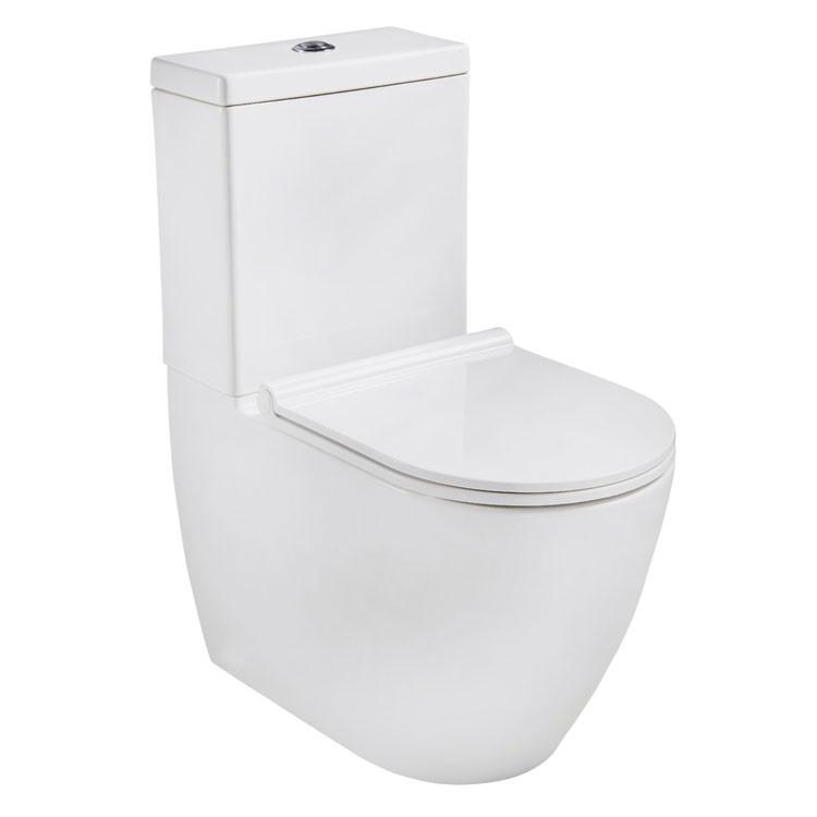 Neusbad Stand-Tiefspül-WC Komplettset 13662