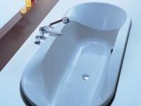 Hoesch Badewanne Spectra oval 1900x900, weiß