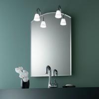 Zierath Lichtspiegel Ferrara II 6080 BxH: 600x800, Lux:310, 2 x 20 W, FerraraII6080