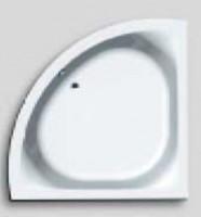 Hoesch Badewanne Scelta Eck 1500 ohne Schürze,