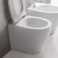 Globo 4All Stand-WC, spülrandlos, T:540, B:360, H:430mm, Abgang Multi, wandbündige Installation, MD0