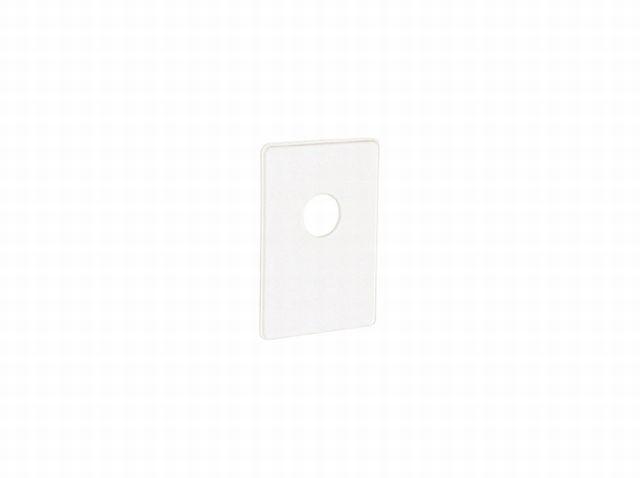 Abdeckplatte zu WE-Siphon HL 400, weiß 140524