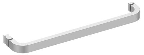 Keuco Duschtürgriff Edition 300 30008, m. Gegenplatten/Griff, verchromt, 500 mm, 30008010502