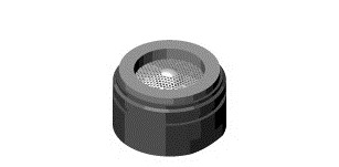 Dornbracht Luftsprudler Ersatzteile 90230111802 chrom, 90230111802-00