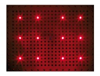 Bossini Dream Rectangular Kopfbrause 500 x 400 mm, mit 12 RGB LED`s
