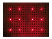 Bossini Dream Rectangular Kopfbrause 500 x 400 mm, mit 12 RGB LED`s