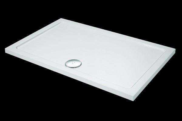 Neuesbad Design Duschtasse 120 x 80x 4 cm, Rechteck