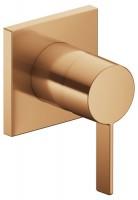 Keuco Einhebelmischer IXMO 59551, eckig, Bronze gebürstet, 59551039502